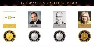 2015 Top Sales & Marketing Video Medals