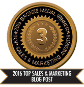 2016 Top Sales & Marketing Blog Post - Bronze