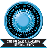 2016 Top Sales & Marketing Individual Blog - Finalist