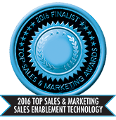 2016 Top Sales & Marketing Sales Enablement Technology - Finalist