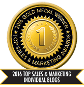 2016 Top Sales & Marketing Individual Blog - Gold