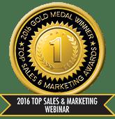 2016 Top Sales & Marketing Webinar - Gold
