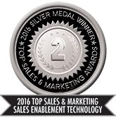 2016 Top Sales & Marketing Sales Enablement Technology - Silver