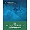 CSO Insights 2017 Sales Enablement Optimization Study - CSO Insights
