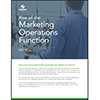 Rise of The Marketing Operations Function: And What Is This Talk About Unicorns?