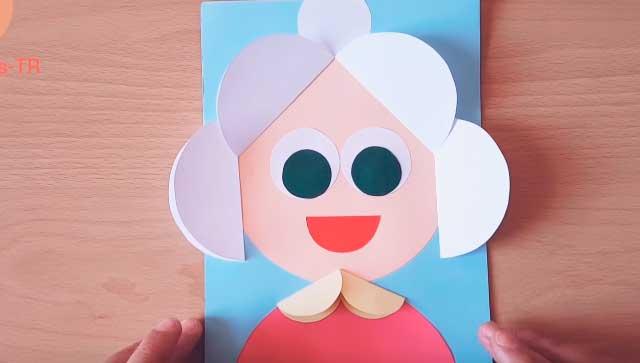 Cartolina babyka.