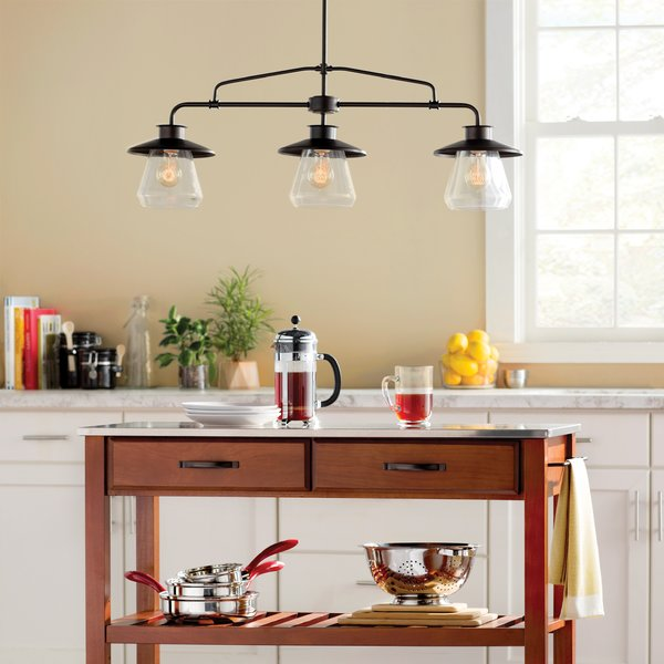 Create A Warm Ambiance In Your Kitchen Area Kitchen Light Fittings Topsdecor Com