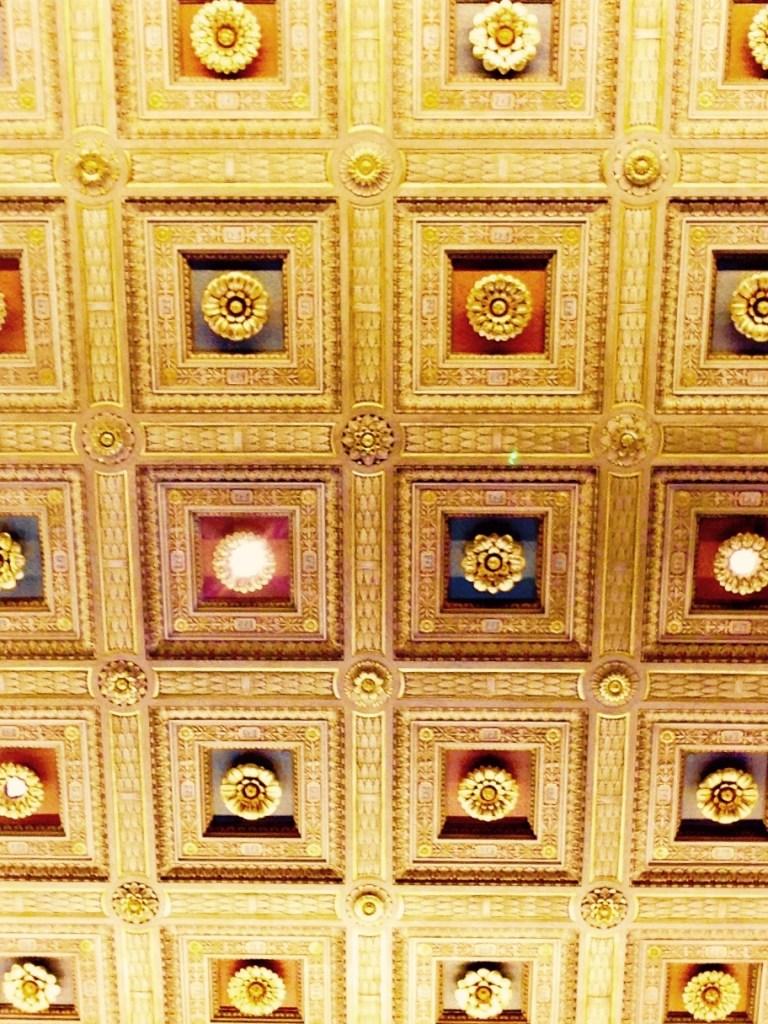 Ceiling detail U.S. Supreme Court (c) Diana Belchase