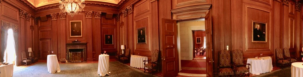 Private reception room U.S. Supreme Court (c) Diana Belchase