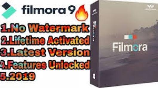 Wondershare Filmora 9.1.3.22 Crack With Registration Key Free Download 2019