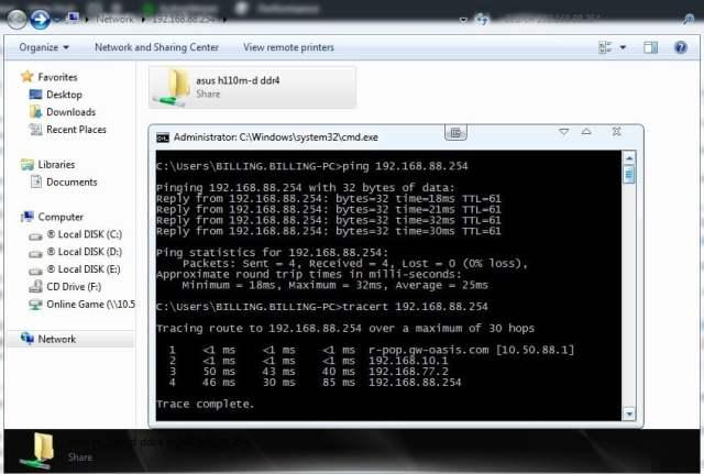 Konfigurasi IP Tunnel (IP-in-IP) Pada MikroTik - Tes Ping dan Sharing Folder Antar Host