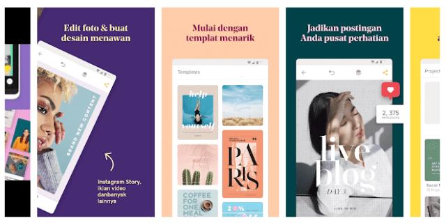 Over - Aplikasi untuk Story Instagram
