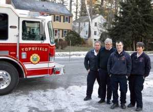 Topsfield Fire Department December Newsletter