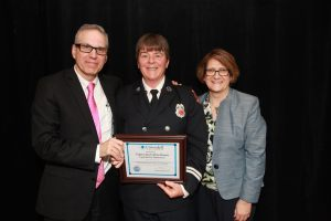Topsfield Fire Captain Jen Collins-Brown Receives EMS Leadership Award