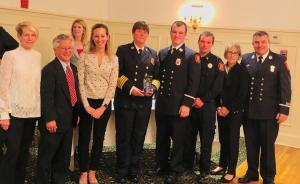 TFD Honored for Cardiac Arrest Save