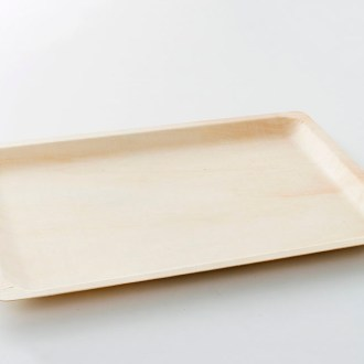 Rectangular Bio Wood Plate