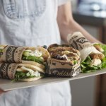 Bistro Ribbed Food Grade Kraft Paper
