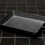 Zen Rectangular black Dish with handles
