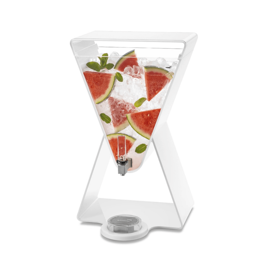 Lucid Prism Beverage Dispense white