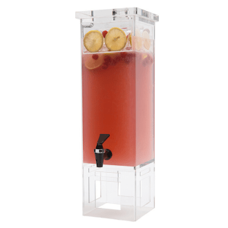 tall square Beverage Dispenser without base
