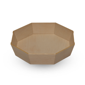octagonal bento style container
