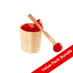 Bamboo Cocktail Fork VALUE PACK BUNDLE