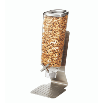Single Stainless Steel Food Dispenser