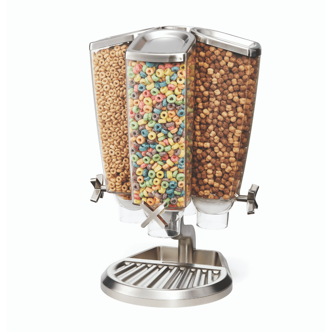 4 Container bulk food dispenser Carousel