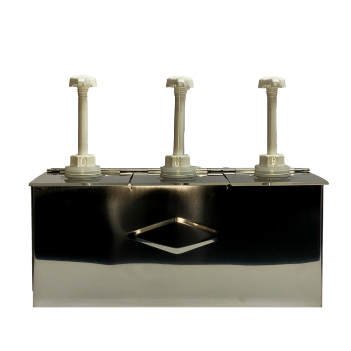 Stainless Steel Syrup Dispenser
