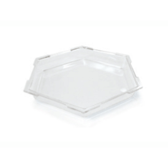 Ice Bath Small Honeycomb – Clear Acrylic