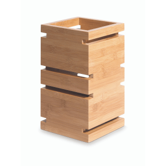 Tall Multi-Level Buffet Riser Bamboo