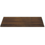 Wide Rectangle Natural Bamboo Walnut Surface