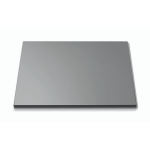 Square surface Black Tempered Glass