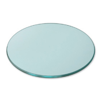 Round surfaces Clear Tempered Glass