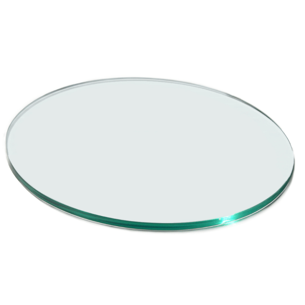 Round surfaces Clear Acrylic