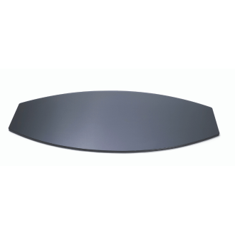 Wide Oval surface for buffet station Black