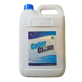 Antibacterial Kitchen Cleaner Spray on Wipe off 5 Litre