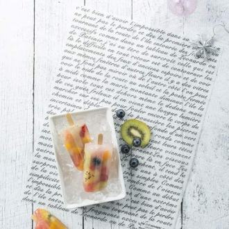 French Script Wax Food Paper
