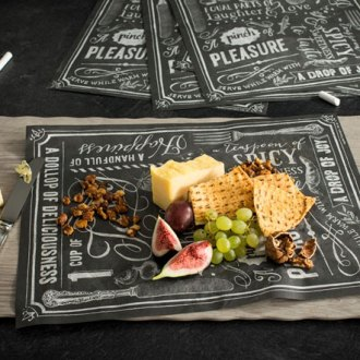 Wax Food Paper - Blackboard-Style Chalk it up!