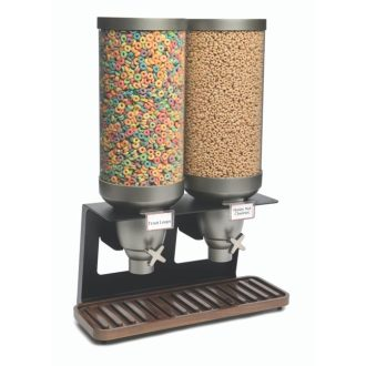 Walnut EZ-SERV XL Double Dispenser 3.5 Gal