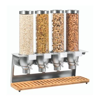 Rosseto EZ-SERV® X4 Bamboo Food Dispenser