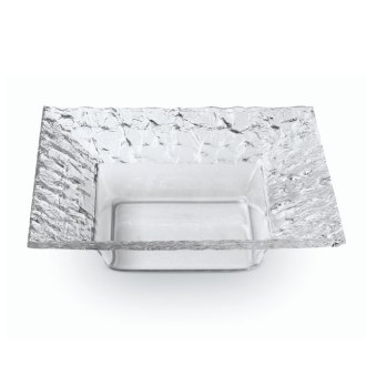 Square Dish Clear Acrylic