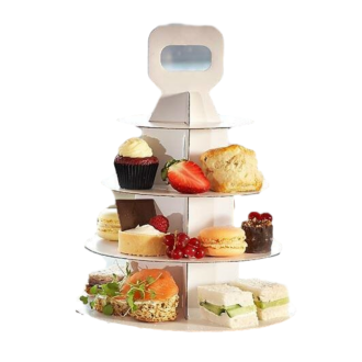 High Tea Takeaway stand 4 tier