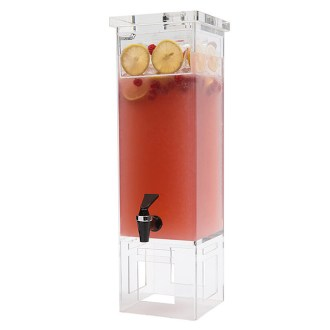 Rosseto Clear Acrylic Square Beverage Dispenser
