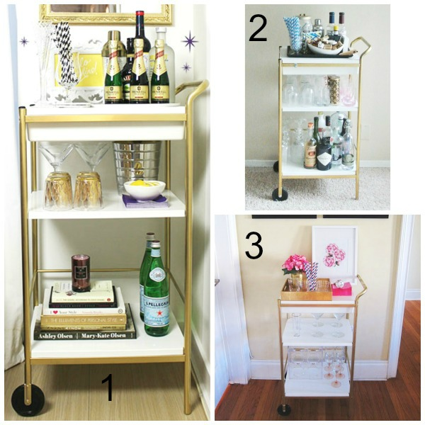 14 Amazing Ikea Bar Cart Hacks for Less Than $110 (Part 1 of