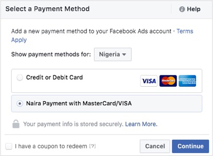 How To Pay For Your Facebook Ads In Nigeria. PayU