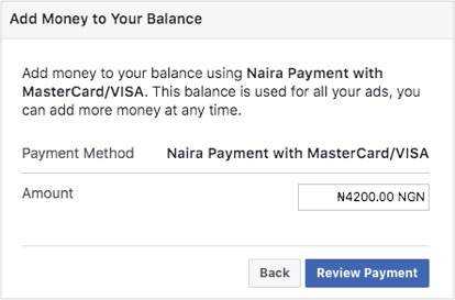 How To Pay For Your Facebook Ads In Nigeria - PayU
