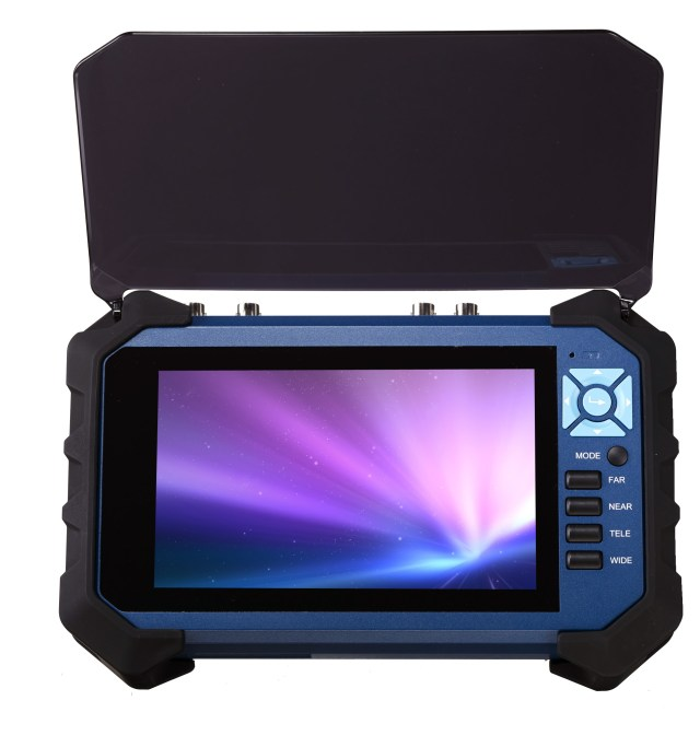 7'' hybrid AHD TVI CVBS CCTV Tester Monitor
