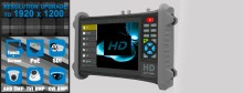 7 inch AHD TVI CVI test monitor for 8MP camera