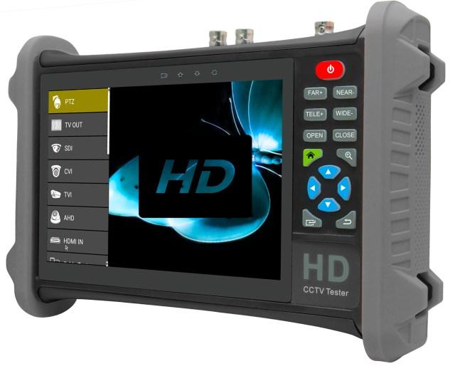 Megapixel AHD TVI CVI camera tester monitor